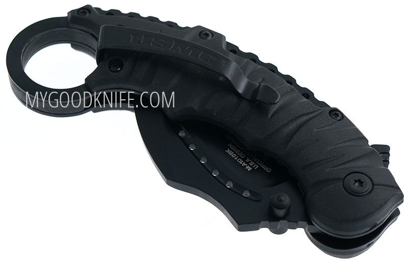 Photo #4 USMC MTech Karambit K-Fighter M-1019BK