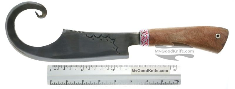 Photo #4 Uzbek Meat Cleaver Uz007P