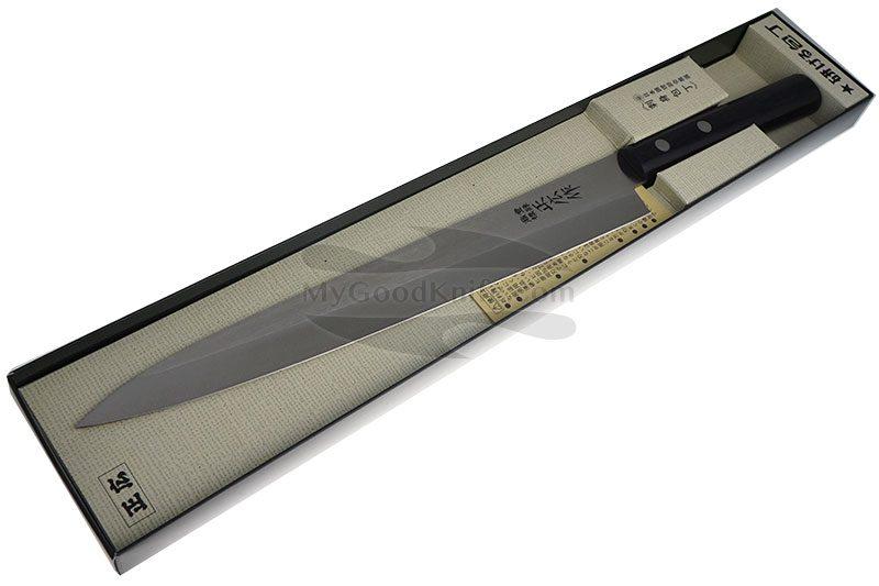 Фотография #6 Японский кухонный нож Янагиба Masahiro для суши ( для левшей ) 10663 24см