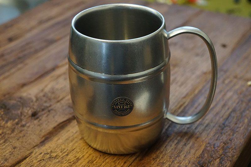 Photo #1 Aoyoshi Vintage DW Barrel Mug 360ml 511004
