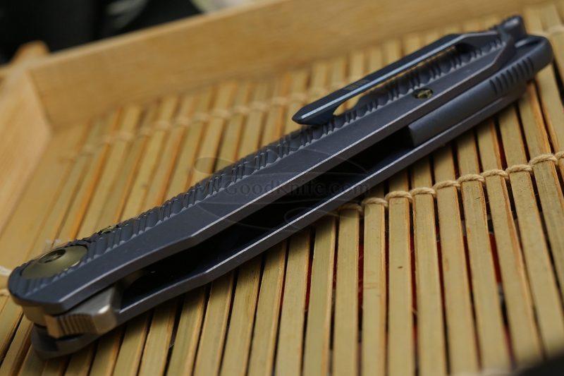 Photo #3 Folding knife We Knife Blue 612D 10.1cm