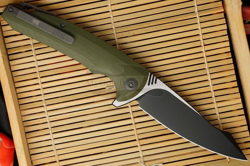 Фотография #2 Складной нож We Knife Green  617C 10см
