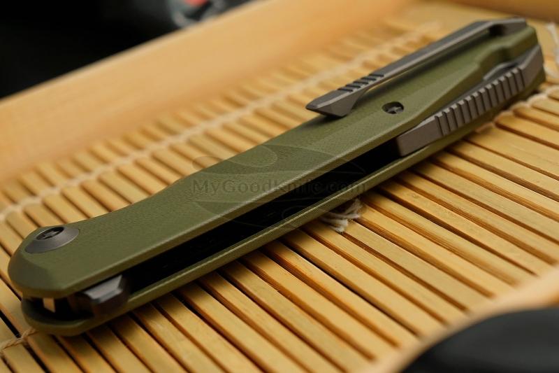 Фотография #3 Складной нож We Knife Green  617C 10см