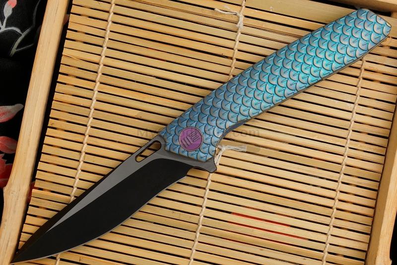Valokuva #1 Kääntöveitsi We Knife Blue 604H 9.7cm