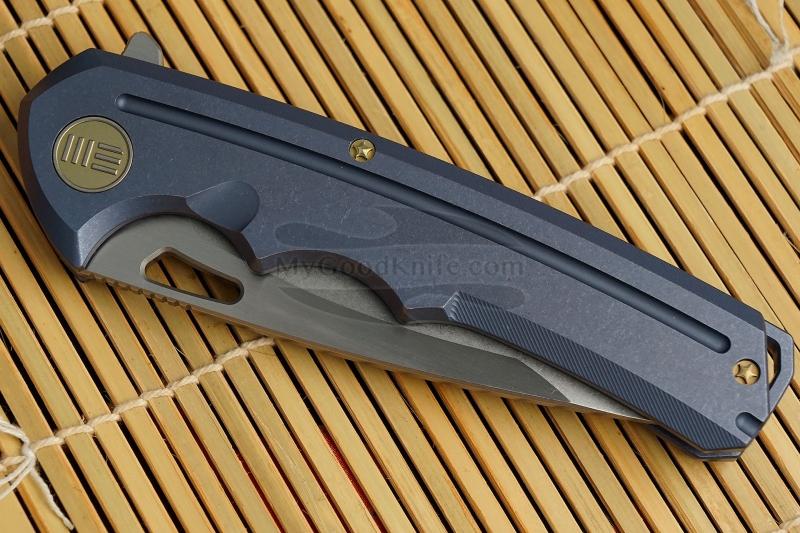 Фотография #3 Складной нож We Knife Blue 611D 9.5см