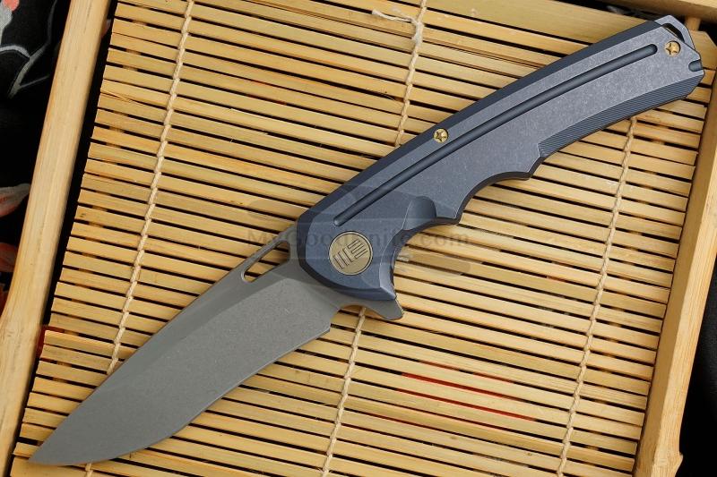 Фотография #1 Складной нож We Knife Blue 611D 9.5см