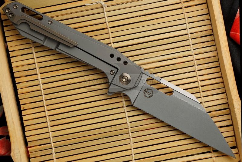 Valokuva #2 Kääntöveitsi We Knife Roxi 4 Gray 916B 10.1cm