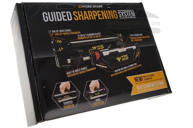 Фотография #1 Work Sharp Guided Sharpening System Точильный инструмент