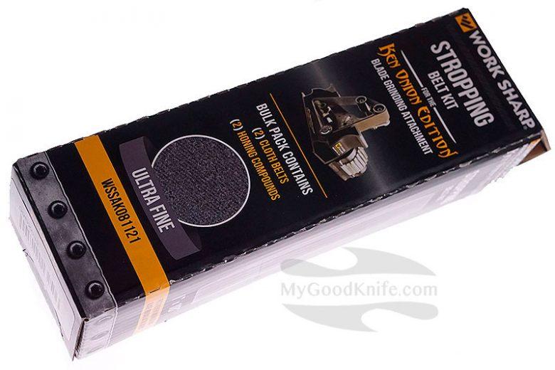 Photo #1 Work Sharp  Ken Onion Edition Blade Grinding Attachment Stropping Belt Kit