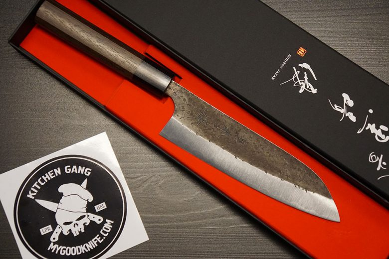 Photo #3 Yu Kurosaki Santoku Knife ZA-165SA