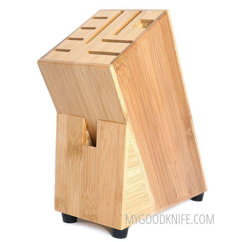 Photo #1 Zeller Knife Block Bamboo (25319)