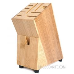 Zeller Knife Block Bamboo (25319)