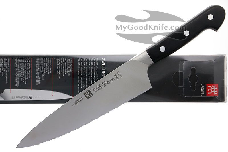 Фотография #3 Zwilling Pro Serrated  Chef's knife 20 cm 38421-201-0